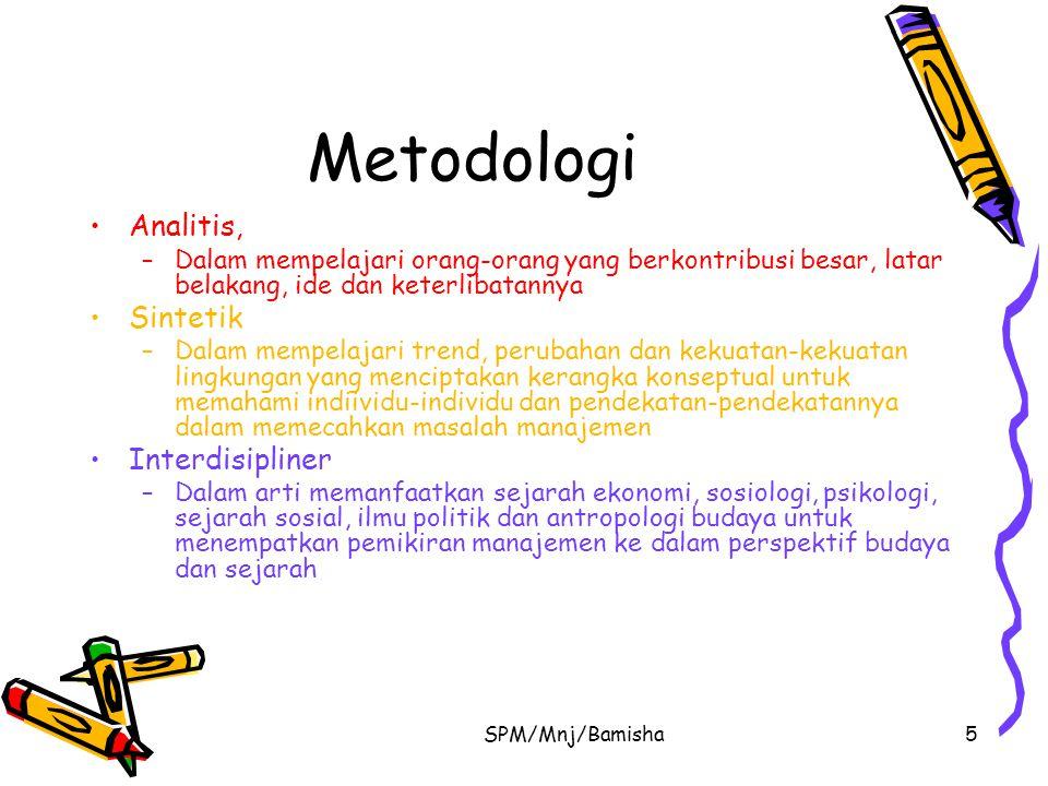 Metodologi Analitis, Sintetik Interdisipliner