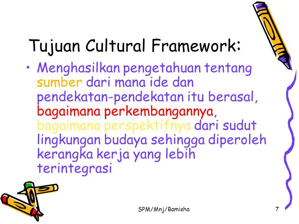 Tujuan Cultural Framework: