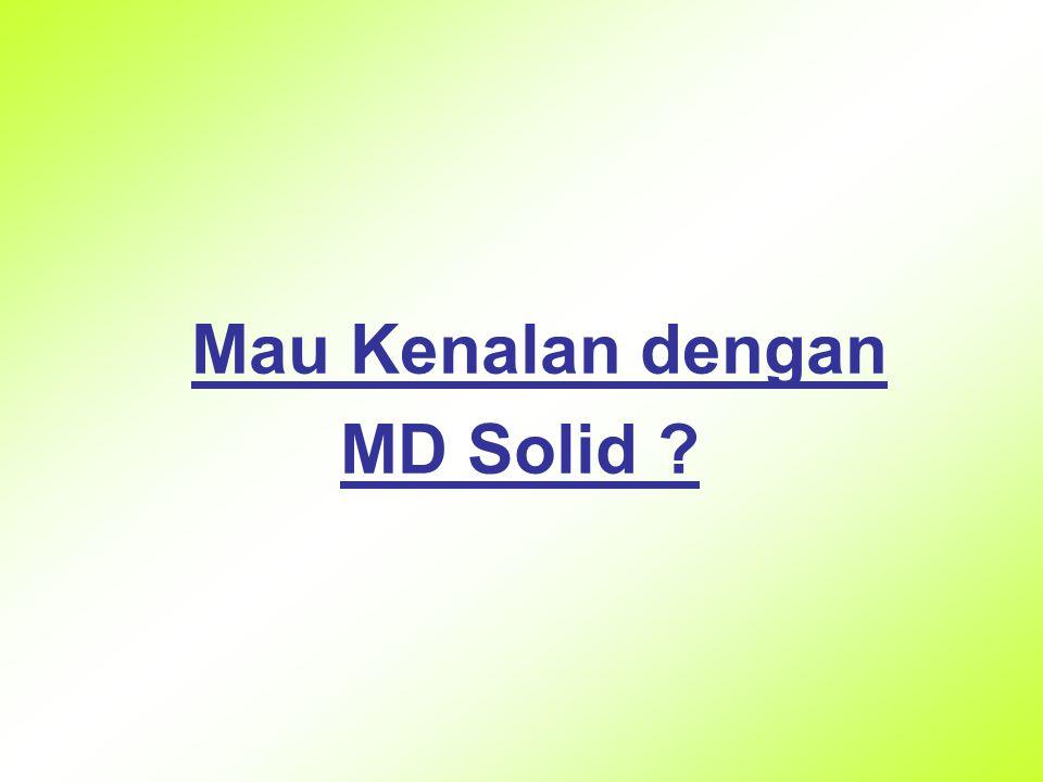 Mau Kenalan dengan MD Solid