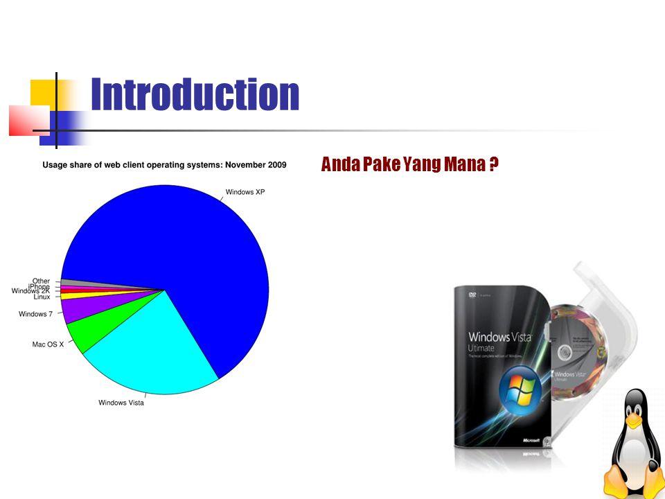 Introduction Anda Pake Yang Mana