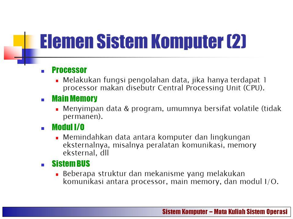 Elemen Sistem Komputer (2)