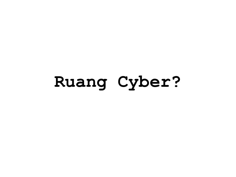 Ruang Cyber