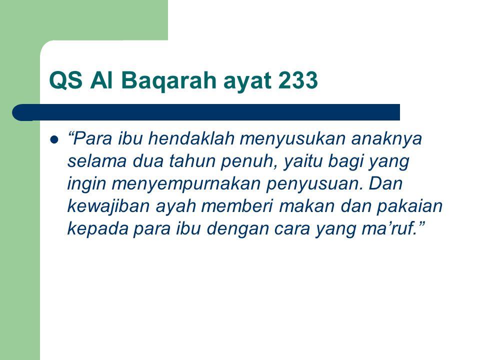 QS Al Baqarah ayat 233
