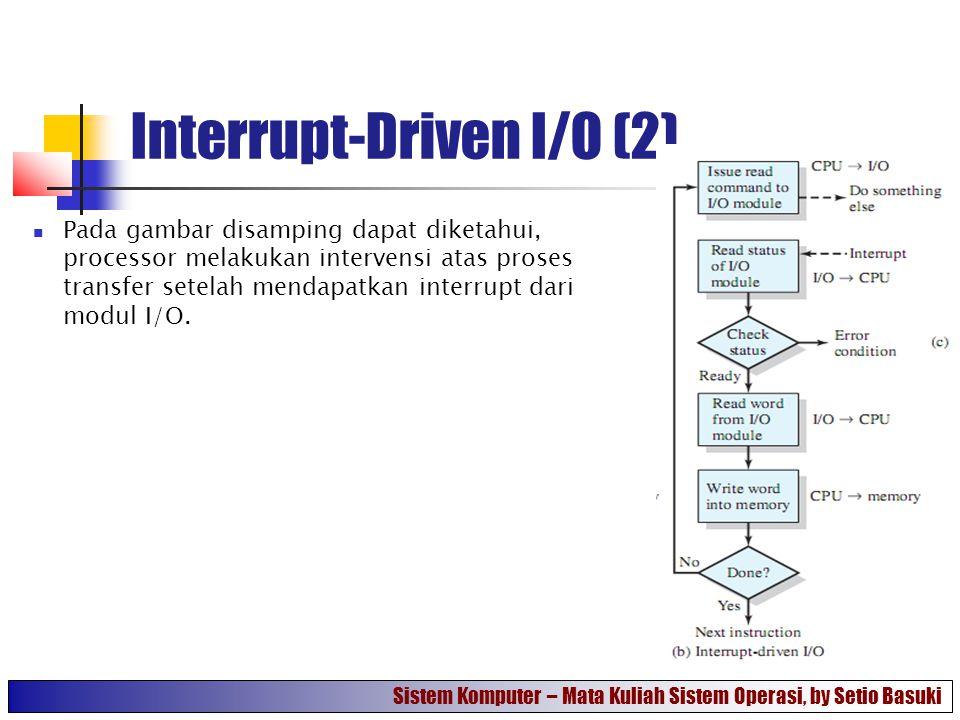 Interrupt-Driven I/O (2)