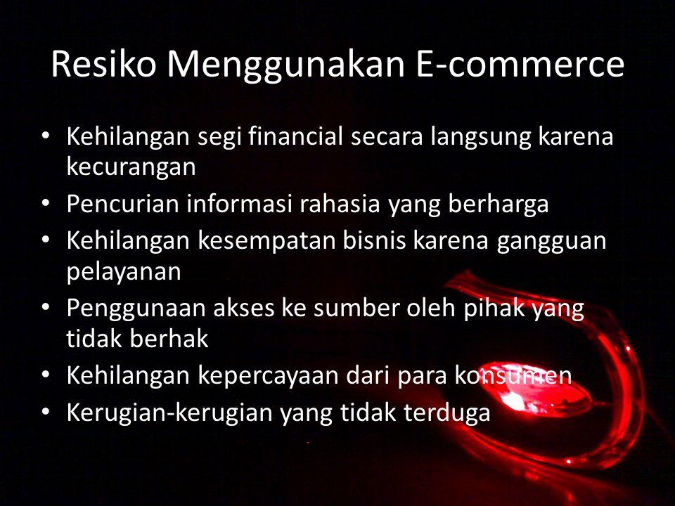 Resiko Menggunakan E-commerce