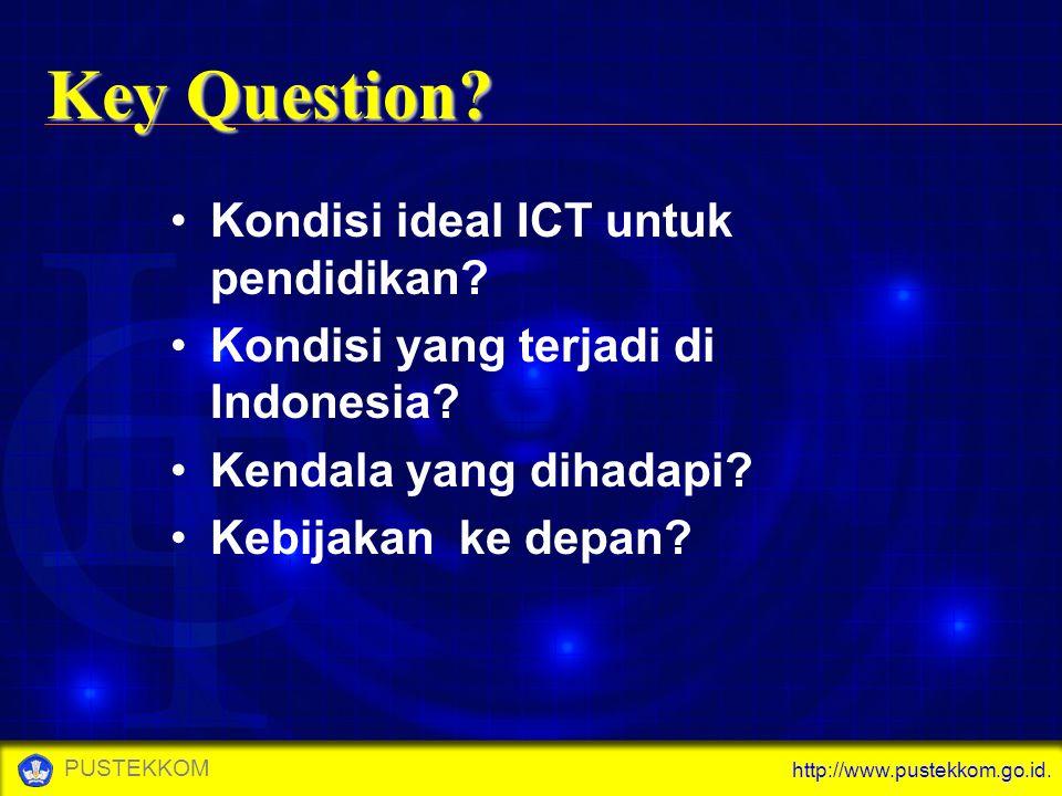 Key Question Kondisi ideal ICT untuk pendidikan