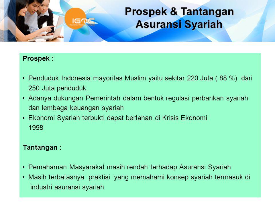 Prospek & Tantangan Asuransi Syariah