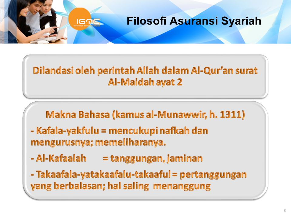 Filosofi Asuransi Syariah