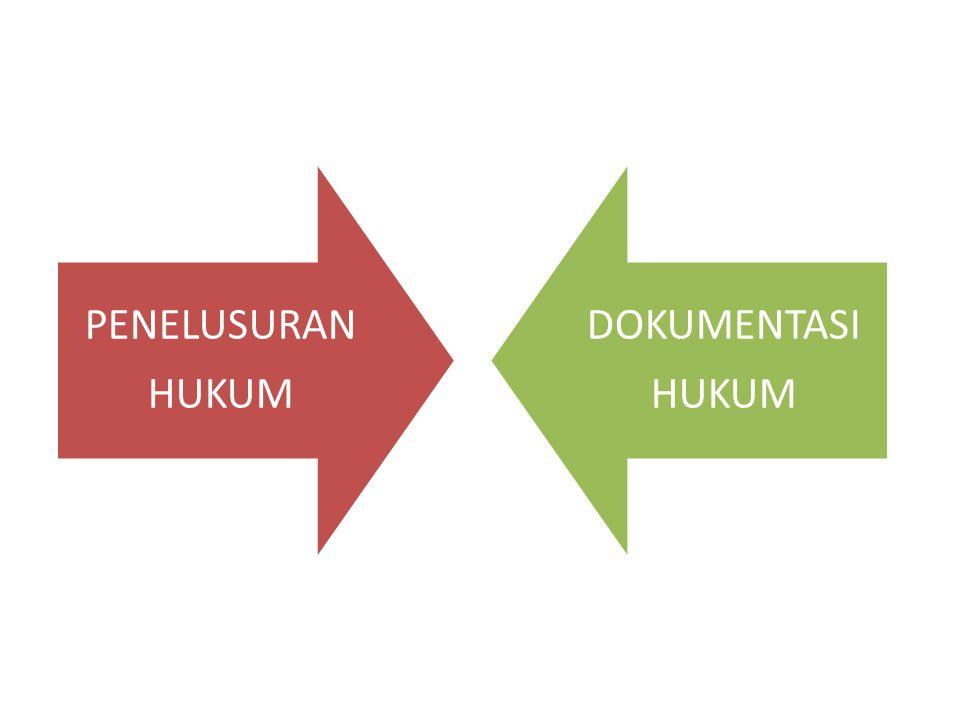 PENELUSURAN HUKUM DOKUMENTASI