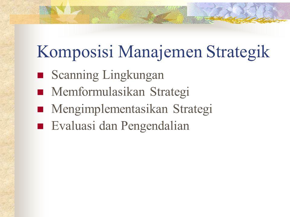 Komposisi Manajemen Strategik