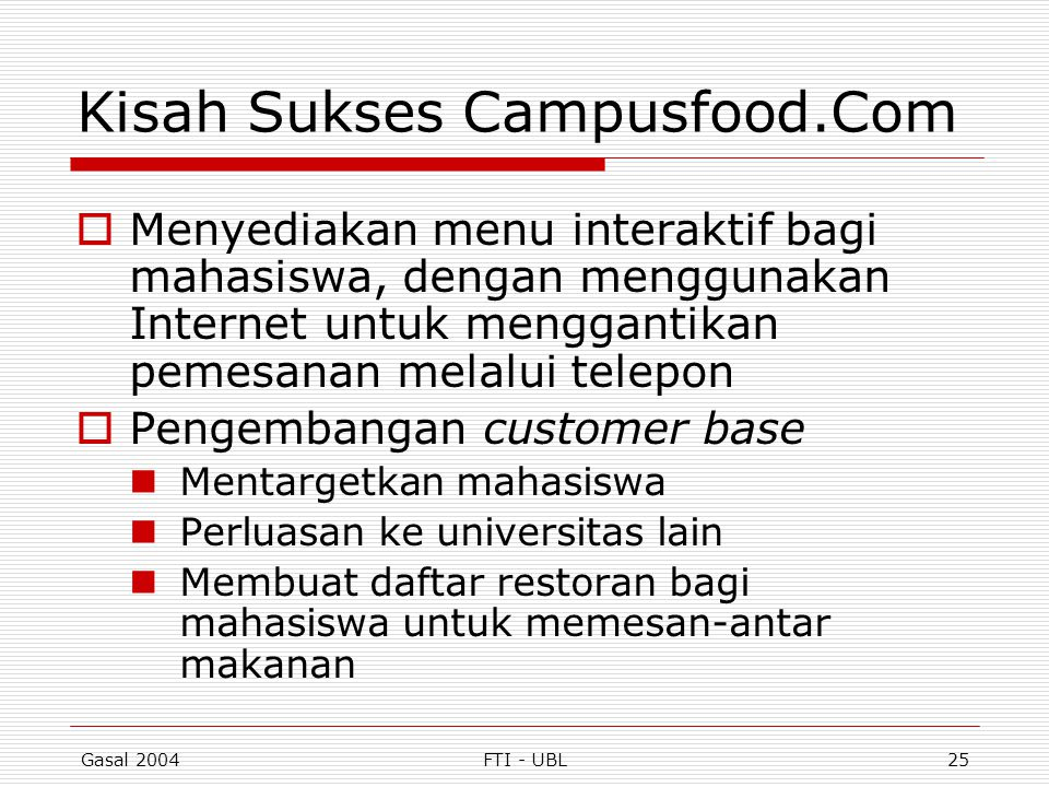 Kisah Sukses Campusfood.Com