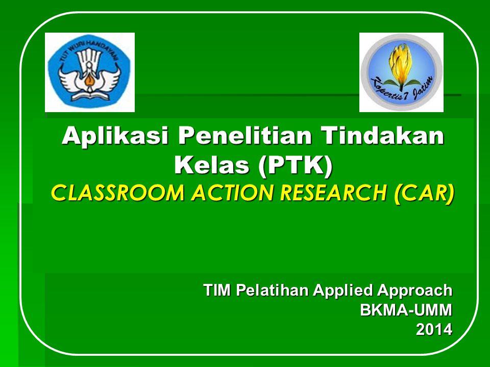 TIM Pelatihan Applied Approach BKMA-UMM 2014