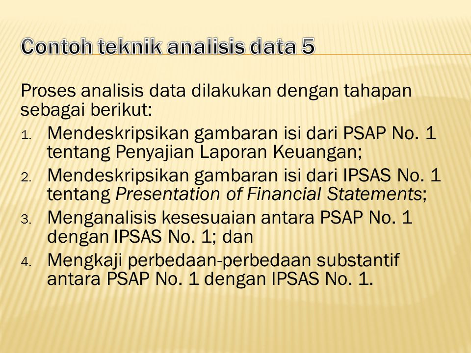 Contoh teknik analisis data 5