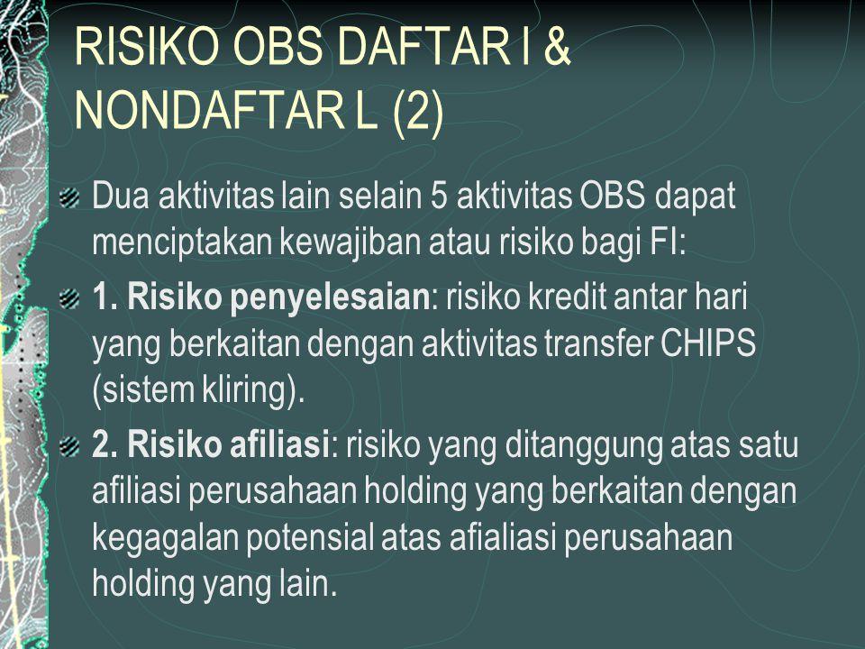 RISIKO OBS DAFTAR l & NONDAFTAR L (2)