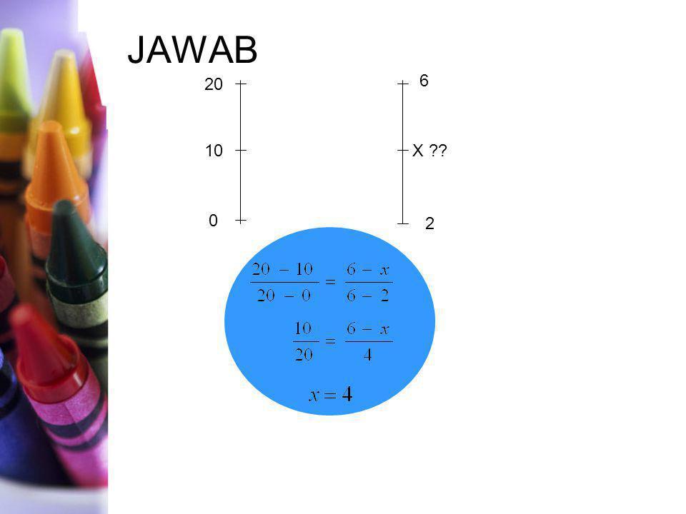 JAWAB 20 10 2 X 6 4