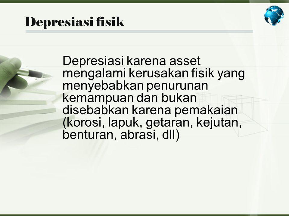 Depresiasi fisik