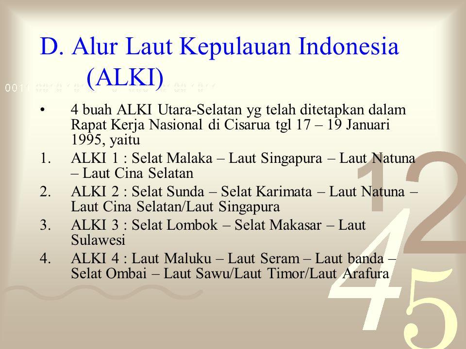 D. Alur Laut Kepulauan Indonesia (ALKI)