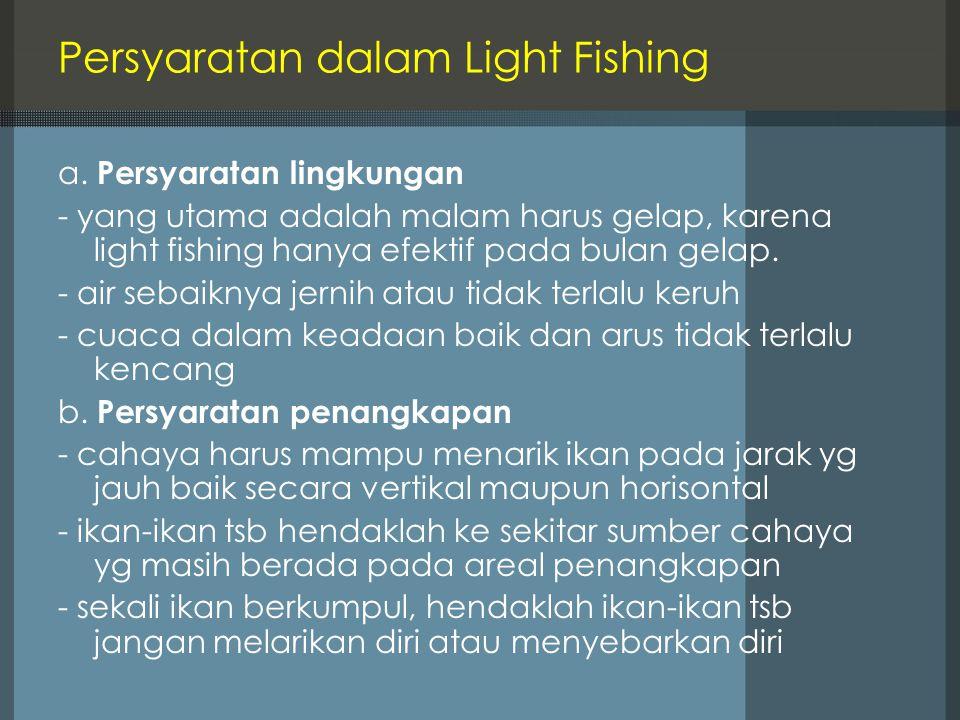 Persyaratan dalam Light Fishing