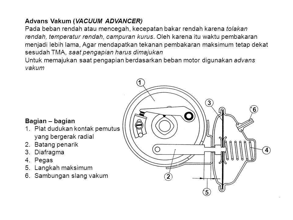 Advans Vakum (VACUUM ADVANCER)