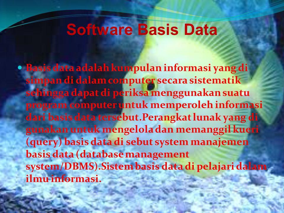 Software Basis Data