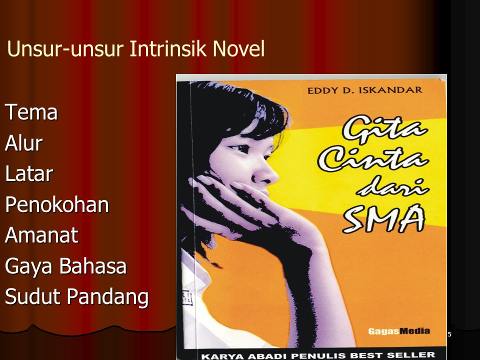 Unsur-unsur Intrinsik Novel
