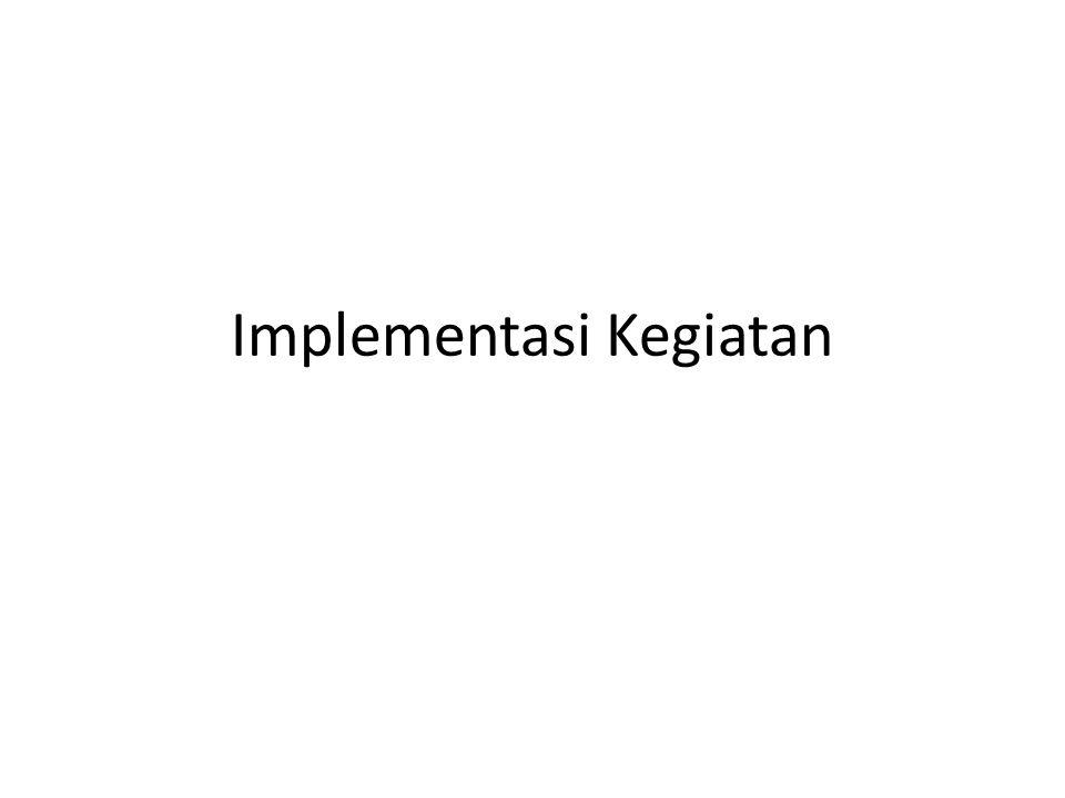 Implementasi Kegiatan