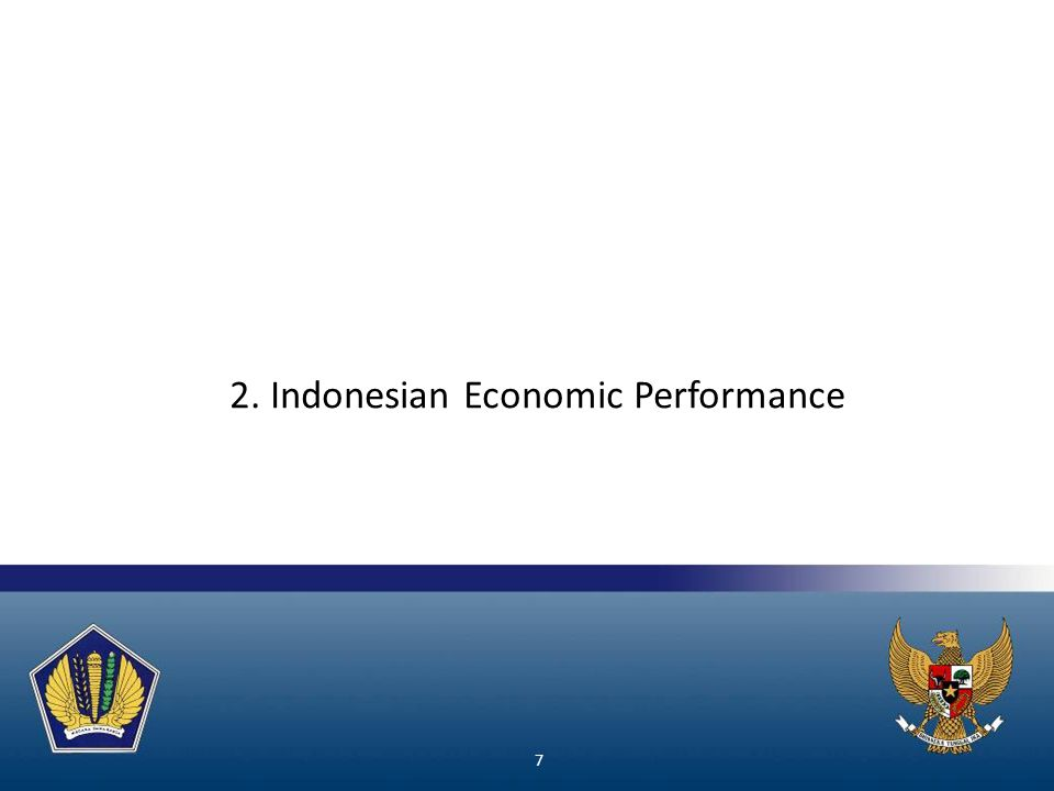 2. Indonesian Economic Performance