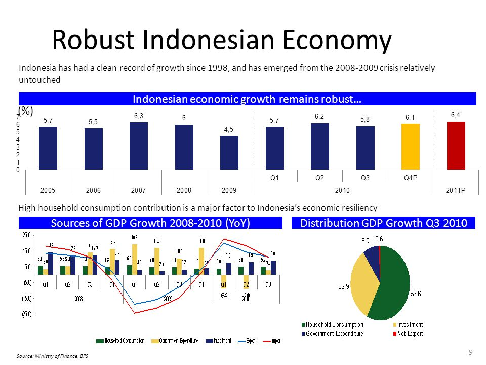 Robust Indonesian Economy
