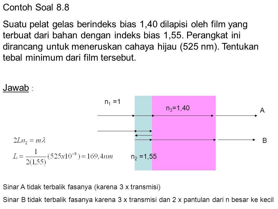Contoh Soal 8.8