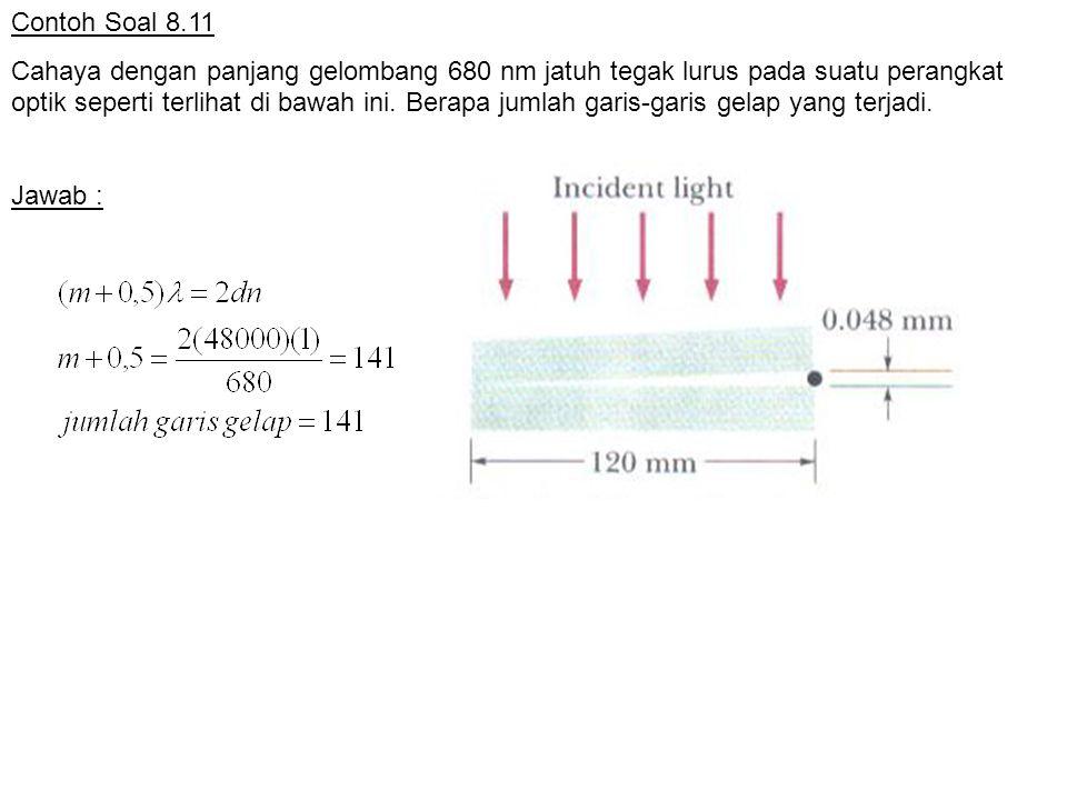 Contoh Soal 8.11