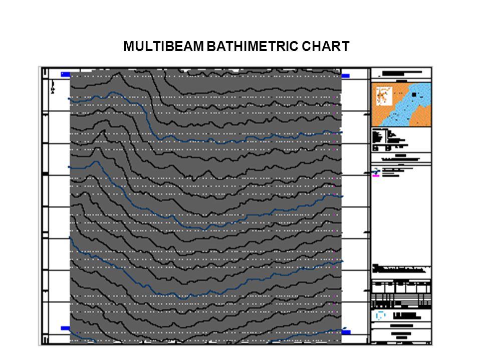 MULTIBEAM BATHIMETRIC CHART