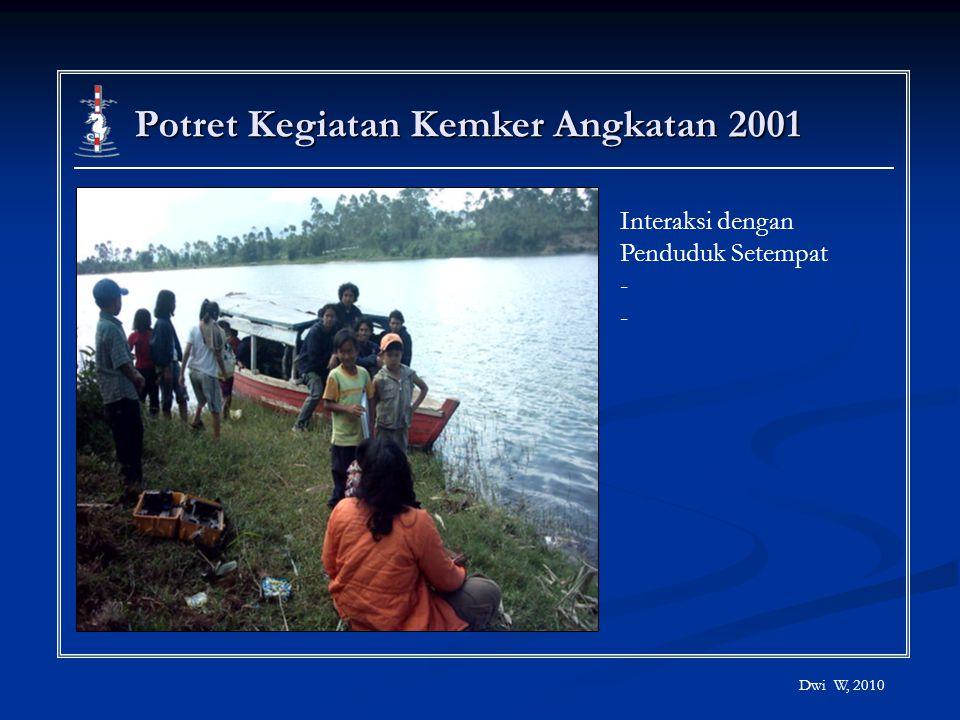 Potret Kegiatan Kemker Angkatan 2001
