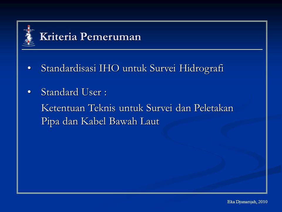 Kriteria Pemeruman Standardisasi IHO untuk Survei Hidrografi