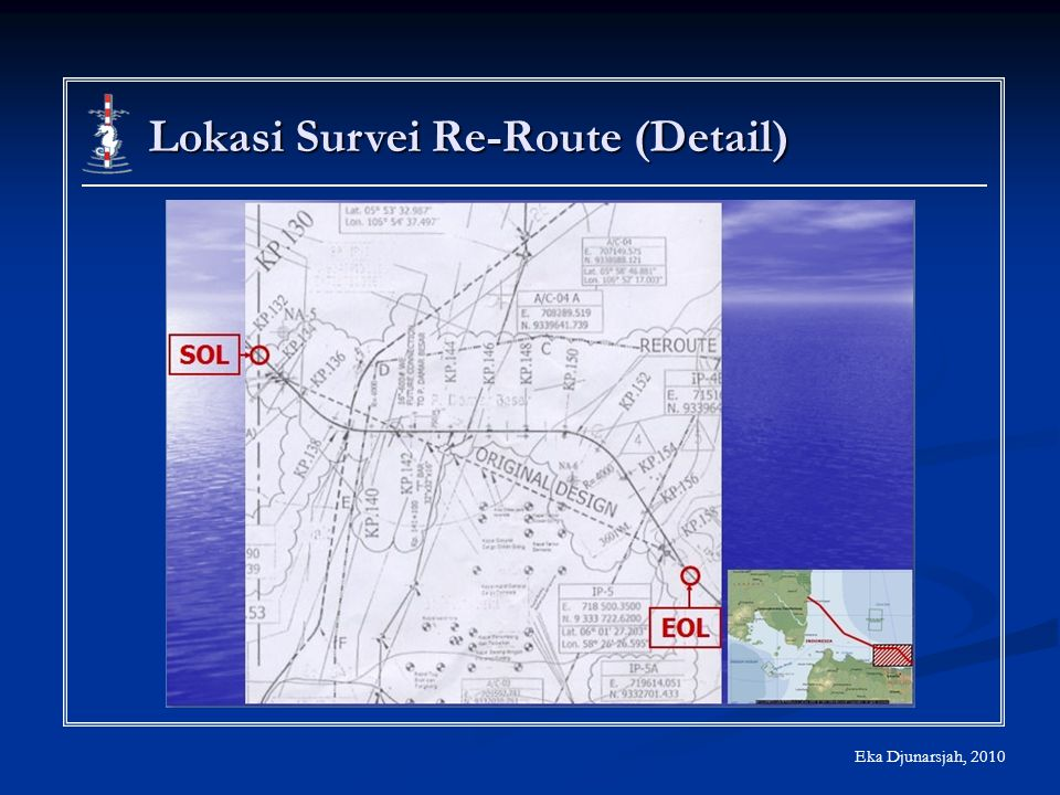 Lokasi Survei Re-Route (Detail)