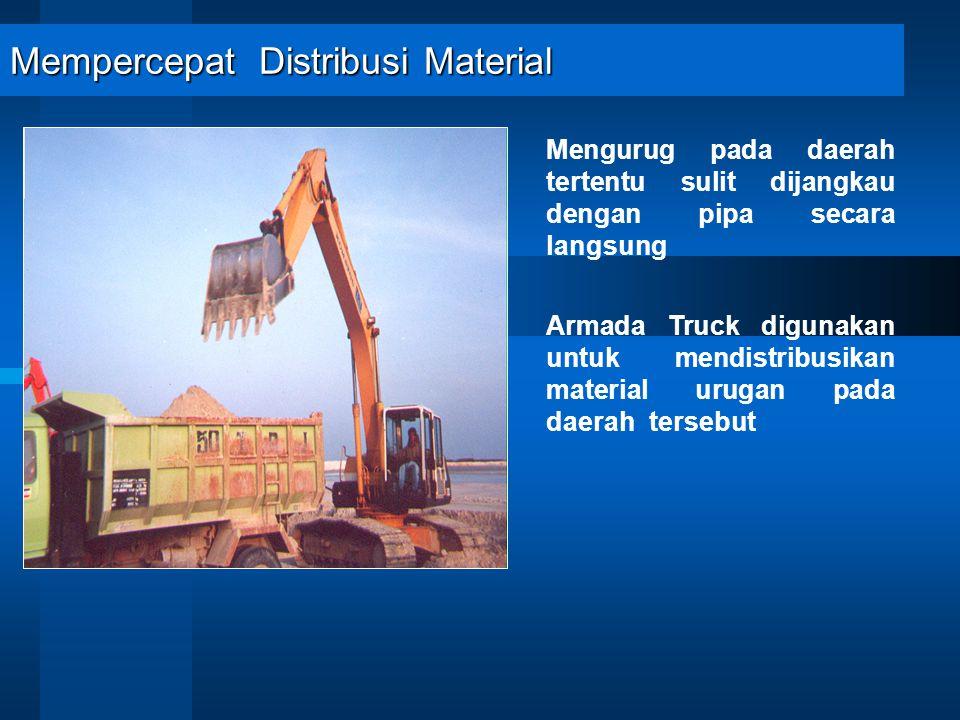 Mempercepat Distribusi Material