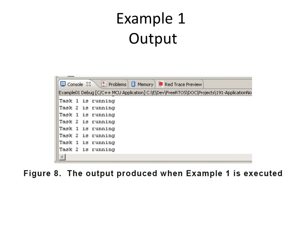 Example 1 Output