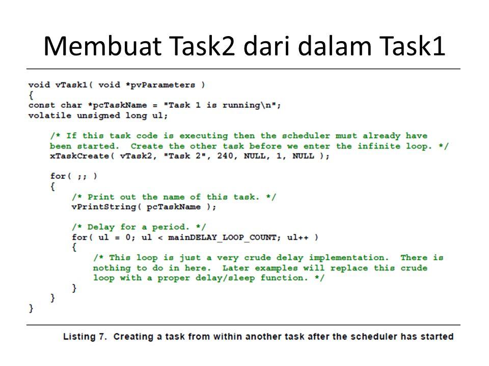 Membuat Task2 dari dalam Task1