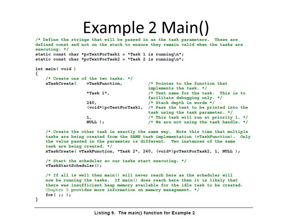 Example 2 Main()