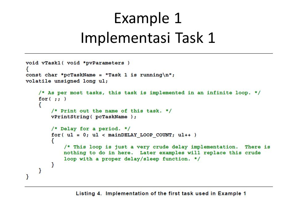 Example 1 Implementasi Task 1