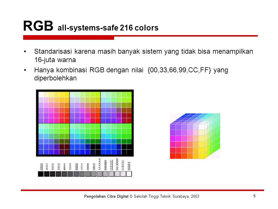 RGB all-systems-safe 216 colors