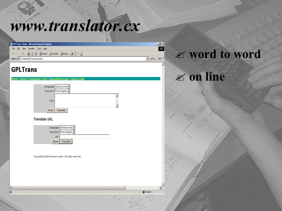 www.translator.cx word to word on line