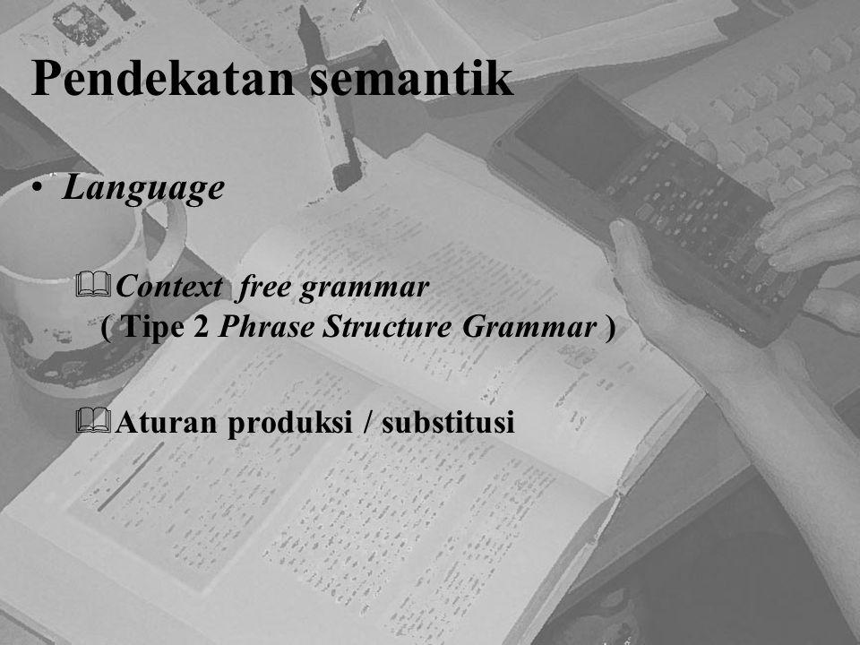 Pendekatan semantik Language
