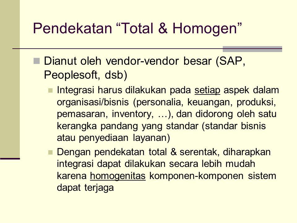 Pendekatan Total & Homogen