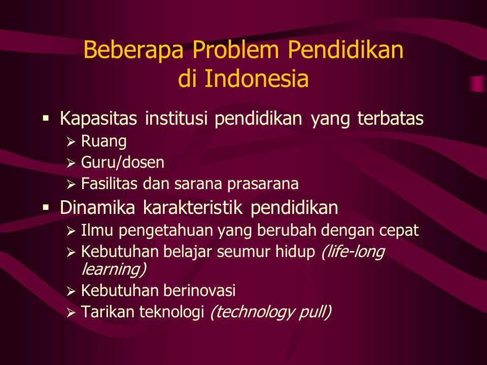 Beberapa Problem Pendidikan di Indonesia