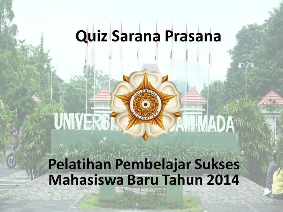 Pelatihan Pembelajar Sukses Mahasiswa Baru Tahun 2014