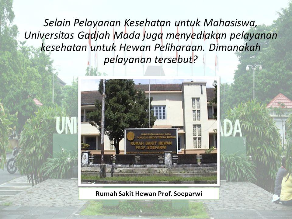 Rumah Sakit Hewan Prof. Soeparwi