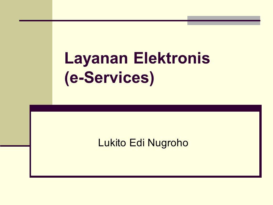 Layanan Elektronis (e-Services)