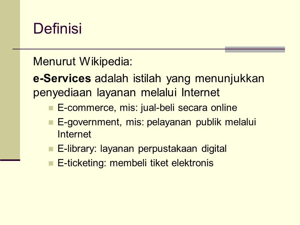 Definisi Menurut Wikipedia:
