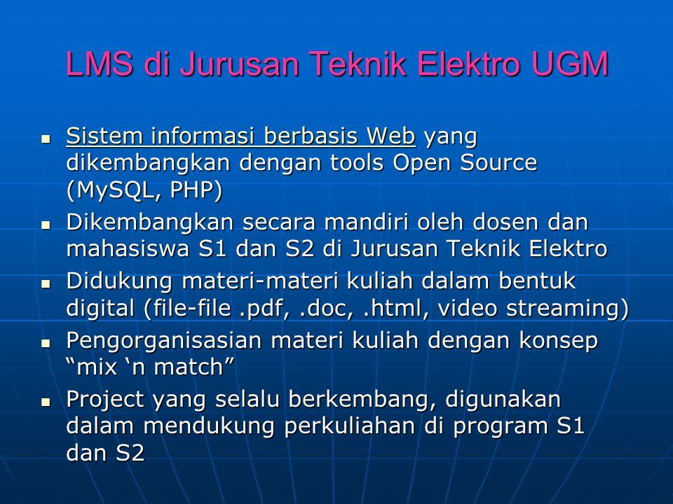LMS di Jurusan Teknik Elektro UGM