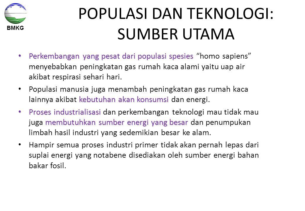 POPULASI DAN TEKNOLOGI: SUMBER UTAMA
